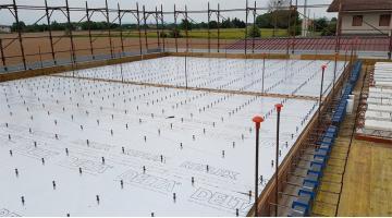 Connettore a secco per consolidamento solai legno-calcestruzzo