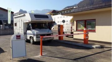 Gestione automatica accessi veloci area camper