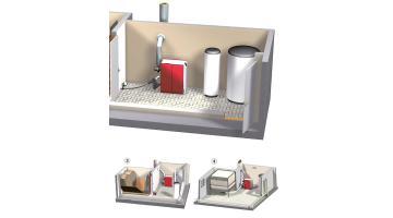 Sistema di carico con coclea flessibile