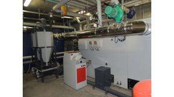Caldaia a bioenergia per grandi strutture