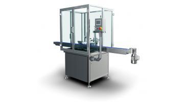 Riempitrice tappatrice rotativa per liquidi in flaconi e vasetti