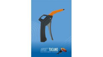 Pistola ad aria compressa ergonomica Tucano