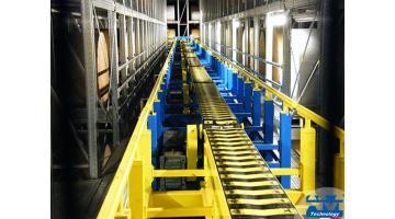 Nastri trasportatori per movimentazione industriale