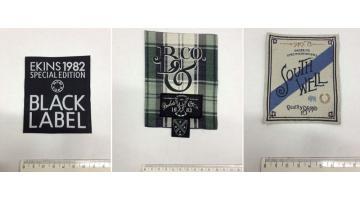 Etichette tessute per fashion brand