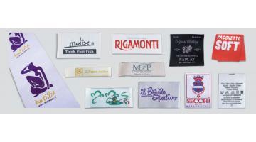 Etichette Tessute Jacquard per fashion brand