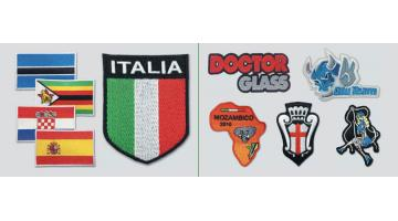 Patches sagomati e termoadesivi