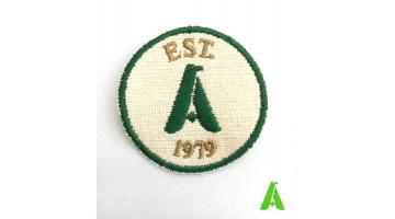 Patch in cotone organico biologico green ed eco friendly personalizzato