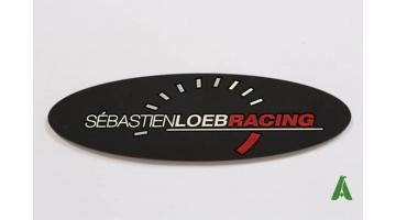 Etichette gommate da cucire personalizzate con logo su misura