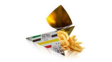 Contenitori per asporto alimenti fritti