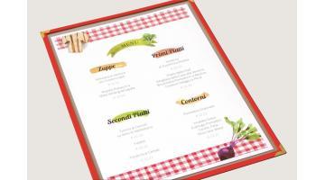 Tavolette menu aggiuntivo