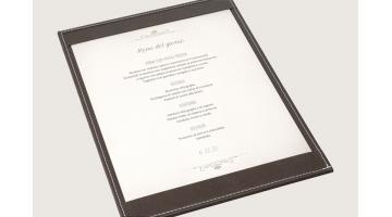 Tavolette menu giornaliero