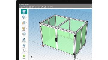 Configuratore per componenti industriali