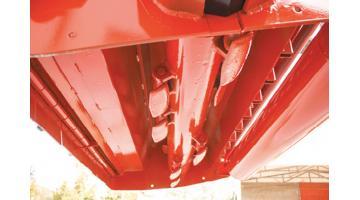 Trinciasarmenti idraulica rinforzata per trattori