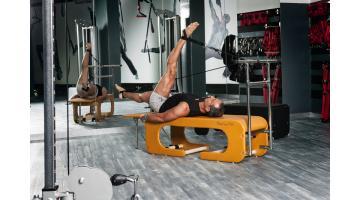 Panca per praticare pilates