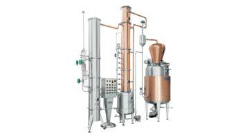 Impianto di distillazione discontinuo C27