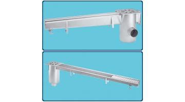 Steel conduits for water drainage