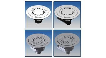 Manhole steel siphon