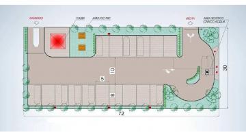 Progettazione aree camper e autocaravan