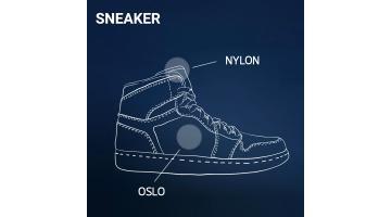 Rinforzi termoadesivi per sneaker uomo