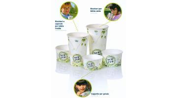 Bicchieri e coppette biodegradabili