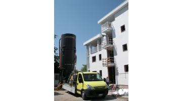 Recupero materiali di scarto per cantieri