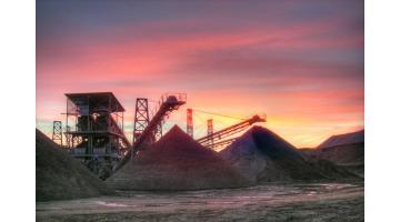 Produzione sabbia edile certificata