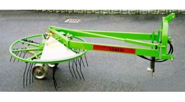 Raccoglirami con bracci lunghi e rotazione idraulica