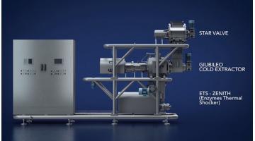 Impianto di estrazione e raffinazione frutta