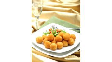 Crocchette di formaggio e funghi surgelate