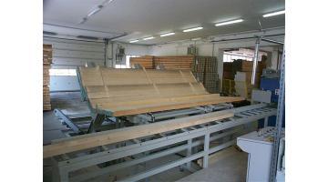 Impianti produzione travi in legno lamellare
