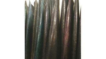 Pelli colori petrolati