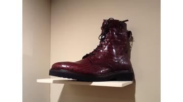 Pelli effetto vintage per calzature