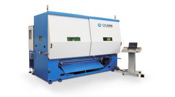 Sistema di saldatura laser in fibra compatto