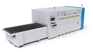 CY2D, sistema di taglio a laser per lamiere di grandi dimensioni
