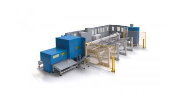 Sistema laser taglio tubi