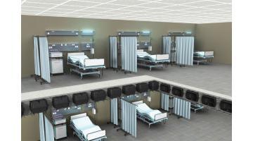 Solaio a piastra alleggerito per ospedali
