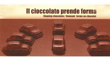 Упаковка для шоколадных литейной формы