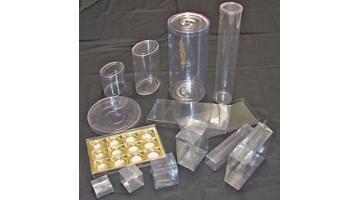 Cilindri e astucci in plastica