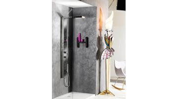 Functional and aesthetic design shower column