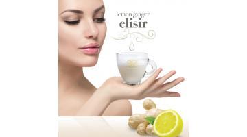 Bevanda calda Lemon Ginger Elisir