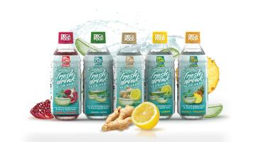 Aloe vera drinks without sugars, dyes or preservatives