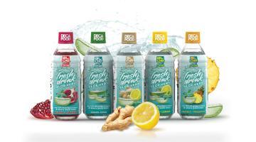 Bevande a base di aloe vera senza zuccheri, coloranti o conservanti