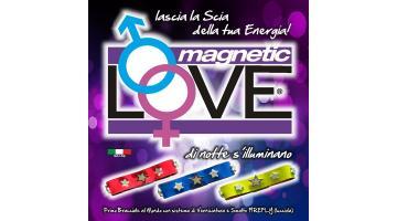 Bracciali fluorescenti con chiusura magnetica