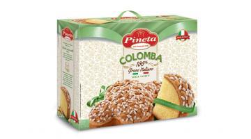 Colomba senza canditi con grano italiano
