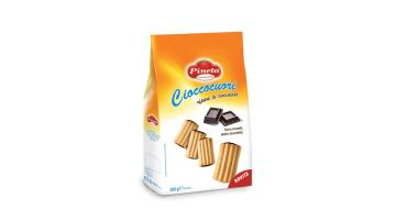 Biscotti con ripieno di cioccolato