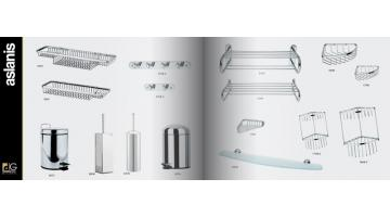 Bathroom accessories in stainless steel