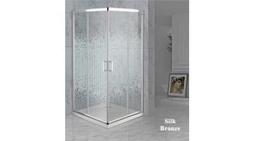 Cabina doccia con porta angolare