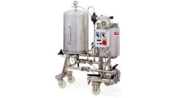 Macchine per filtrazione birra con filtri a scarico manuale