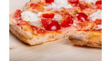 Base pizza confezionata con lievito madre