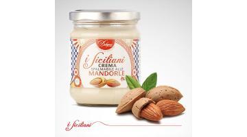 Crema spalmabile siciliana alla mandorla
